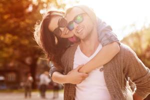 Happy Relationship and Couple Enjoying Life